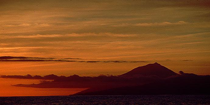 Sonnenuntergang Pico