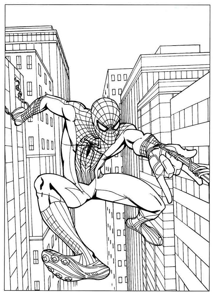 Spider Man Coloring Pages Download And Print Spider Man Coloring Pages