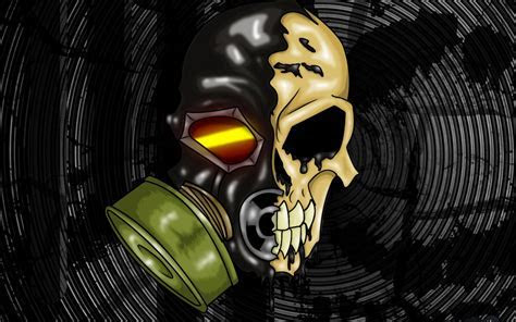 Gas masks trenchhead scule wallpaper   (121388)