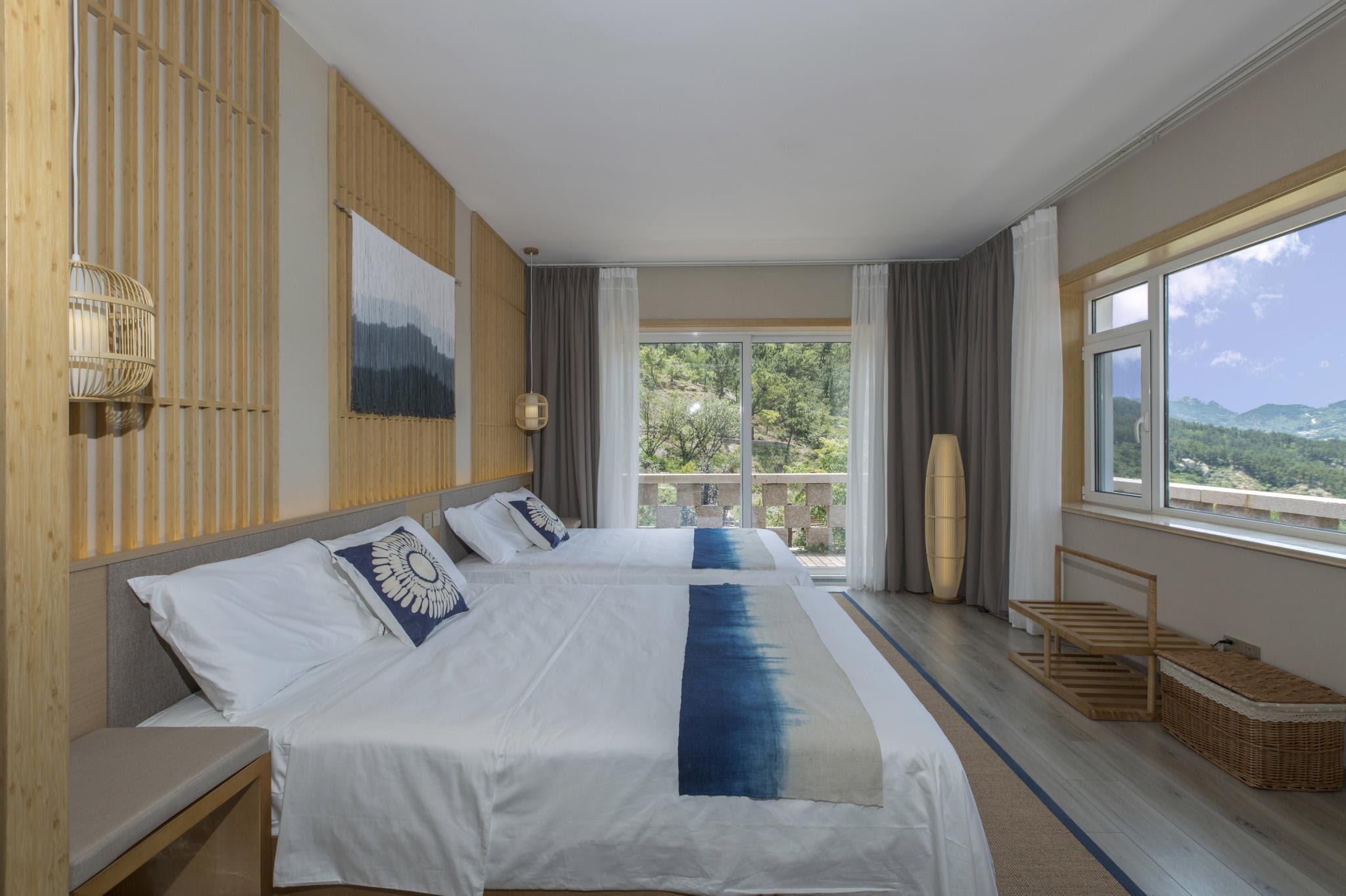 hotel near Qingdao Full Mountain View Superior Twin Room-108 Zen