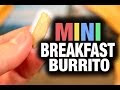 This Mini Breakfast Burrito Is Quite Funny, But Leaves You Hungry For More - Video