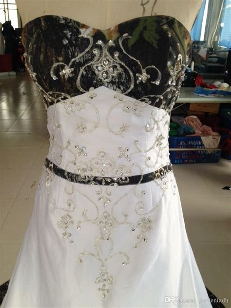 2015 cheap camo wedding dress real picture (850×1133