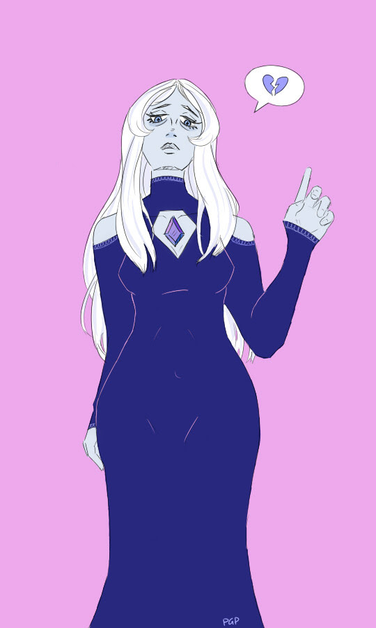 blue diamond is by far one of my fave giant sad ladies.