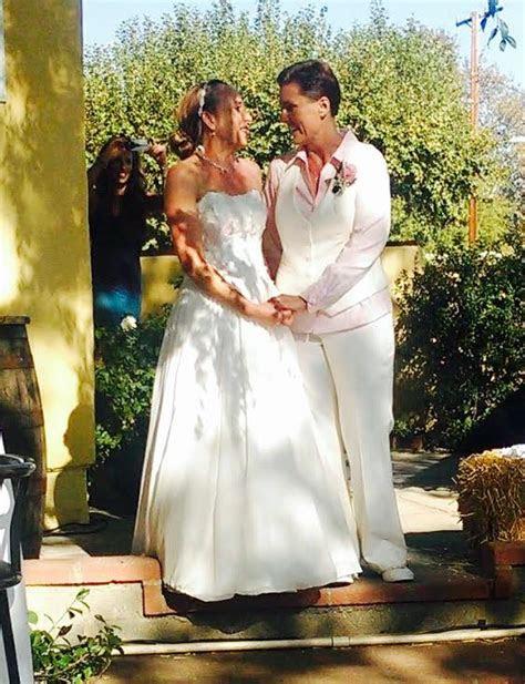 lesbian wedding denver dressmakers