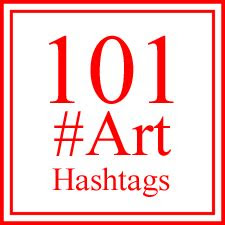 art hashtags  artists    social media