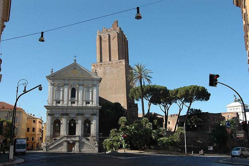 File:Monti - Chiesa di S. Caterina a Magnanapoli e Torre delle Milizie b.jpg