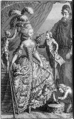 engraving from Découverte Australe par un Homme Volant