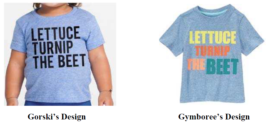 how to copyright t shirt designs