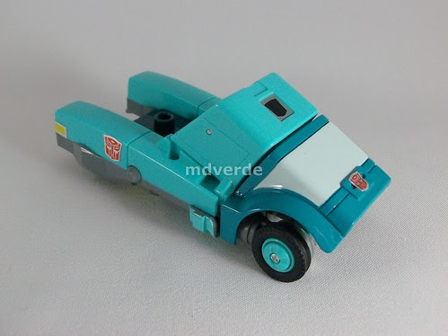 Transformers Targetmaster Kup G1 Reissue - modo alterno (by mdverde)