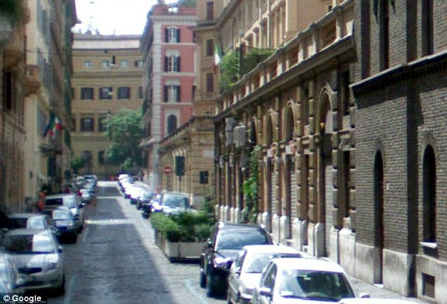 Location, location, location: The Europa Multiclub in Via Carducci, Rome, where several priests live nearby