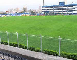 estádio Anacleto Campanella jogo São Caetano x Palmeiras (Foto: Gustavo Serbonchini)