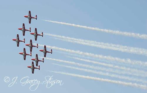 Orillia - Snowbirds air show in Orillia (1)