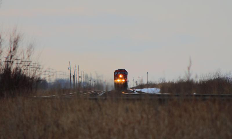Anticipation - CN 5508 near Winnipeg