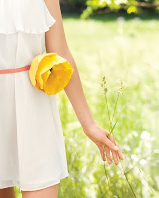 ...porque é quinta de flor, digo, quinta yellow flower! by Menina Prendada -