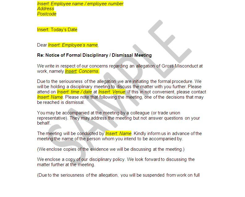 85 redundancy termination letter template uk, template termination.