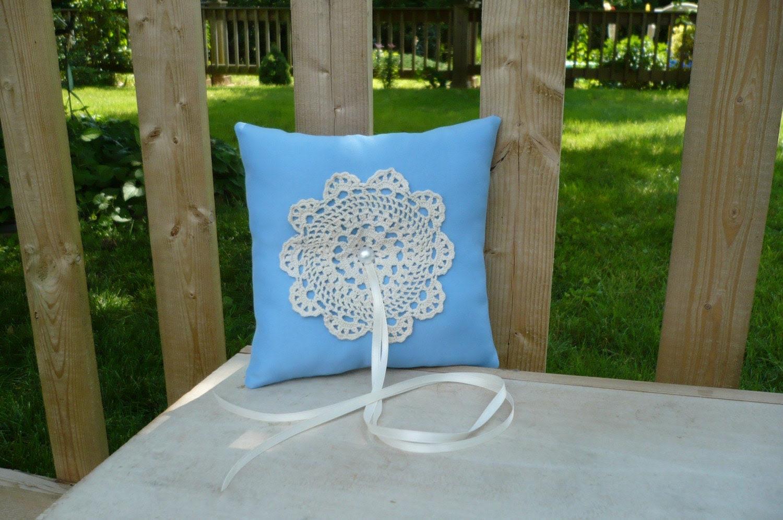 Romantic Ring Bearer Pillow