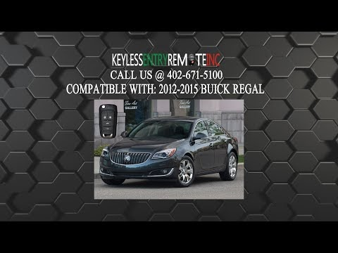 How To Replace A Buick Regal Key Fob Battery 2017 And Br Programming Instructions