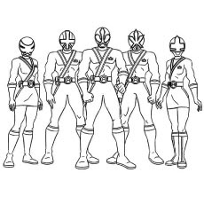 power rangers printables coloring pages at getdrawings