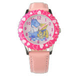 cute teddy bears on picnic cloth still life art wrist watches