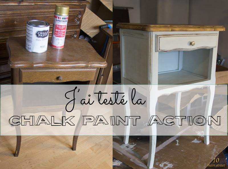 Jai Testé La Chalk Paint Action Et Cest Plutôt Bien En Fait