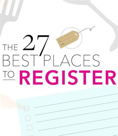 Where to Register: The 50 Best Wedding Registry Sites