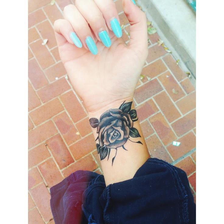 Black And Grey Rose Tattoo Best Tattoo Design Ideas