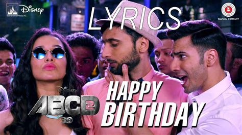 happy birthday full video song lyrics abcd  youtube