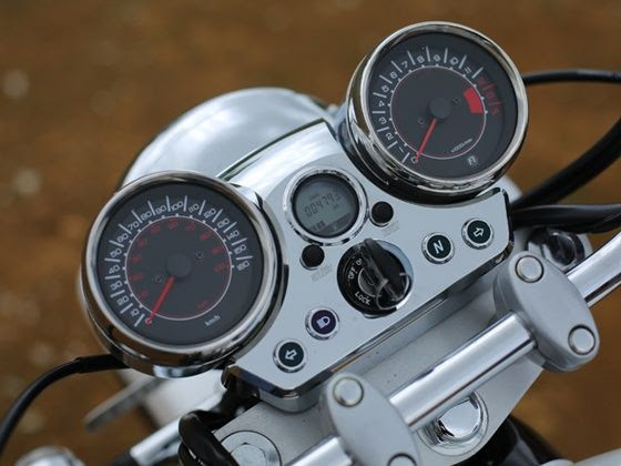 Hyosung Aquila 250 instrument cluster