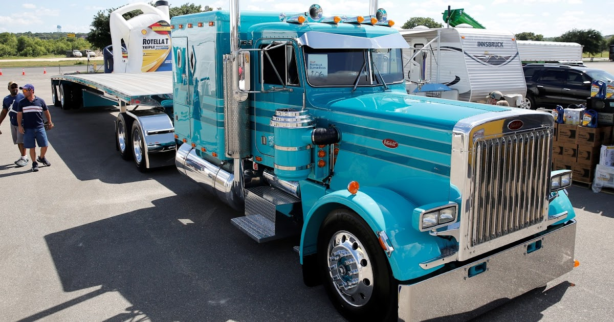 1985 Peterbilt 359 wins Shell SuperRigs Truck News