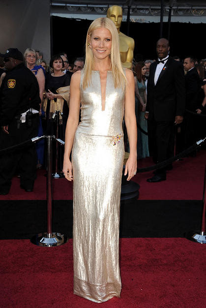 Actress Gwyneth Paltrow arrives at the 83rd Annual Academy Award