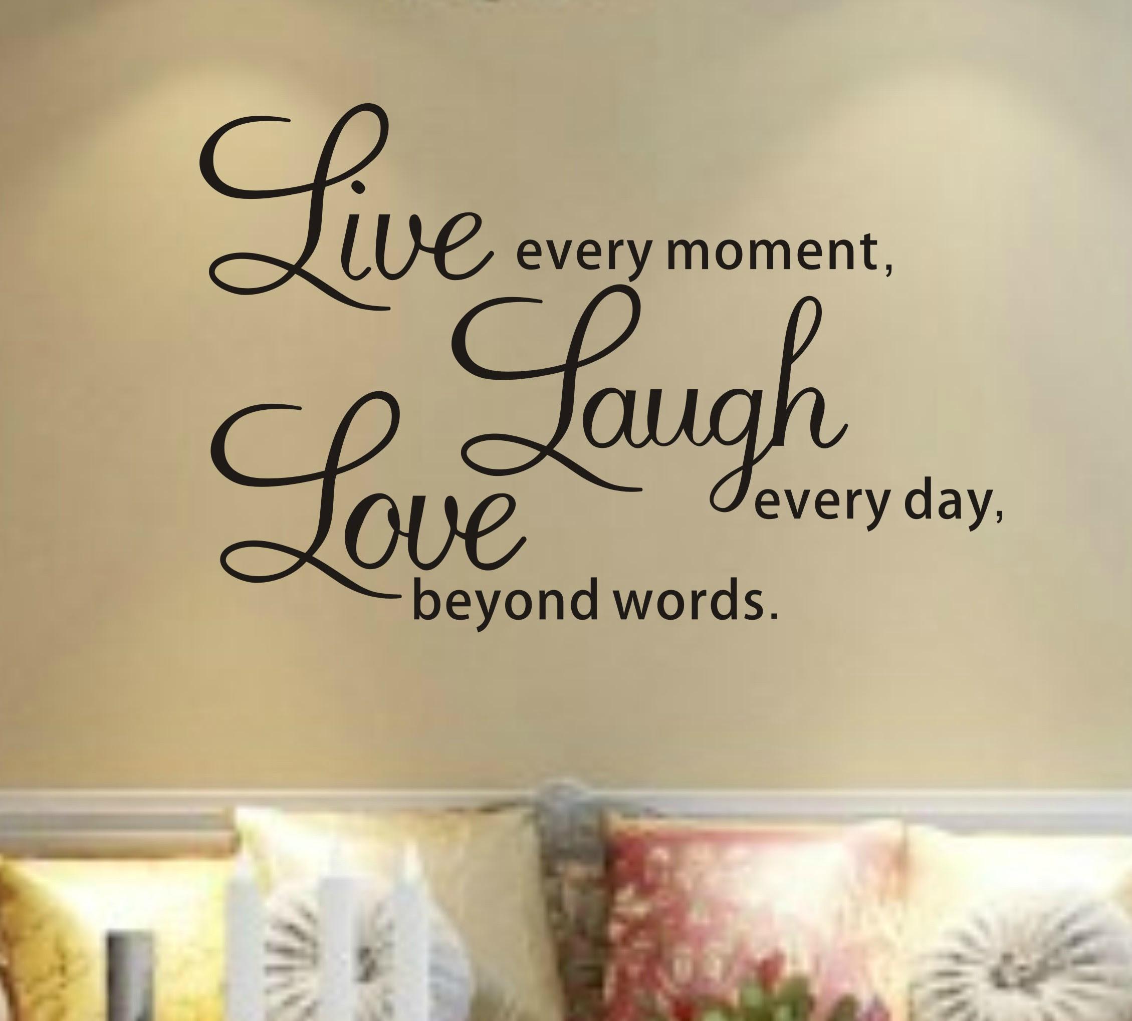 Live Love Laugh Wallpaper Border