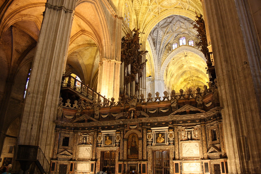 Inside Seville's Cathedral