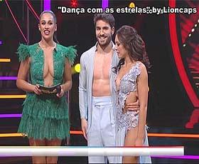 A bela bailarina Ana do Dança com as estrelas