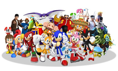 All Characters in Sonic & SEGA All-Stars Racing