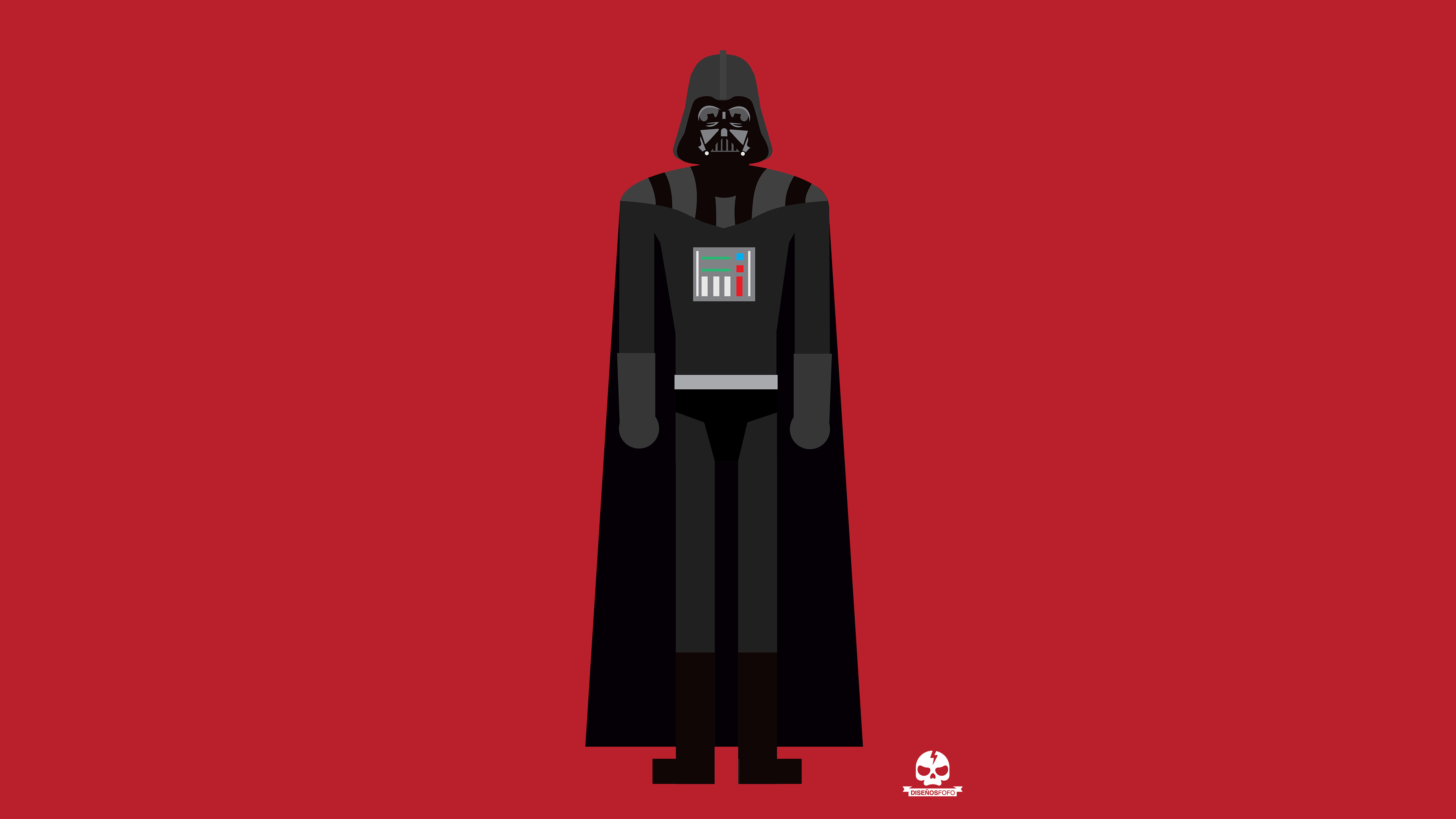 2048x1152 Darth Vader 4k Minimalism 2048x1152 Resolution HD 4k Wallpapers, Images, Backgrounds ...