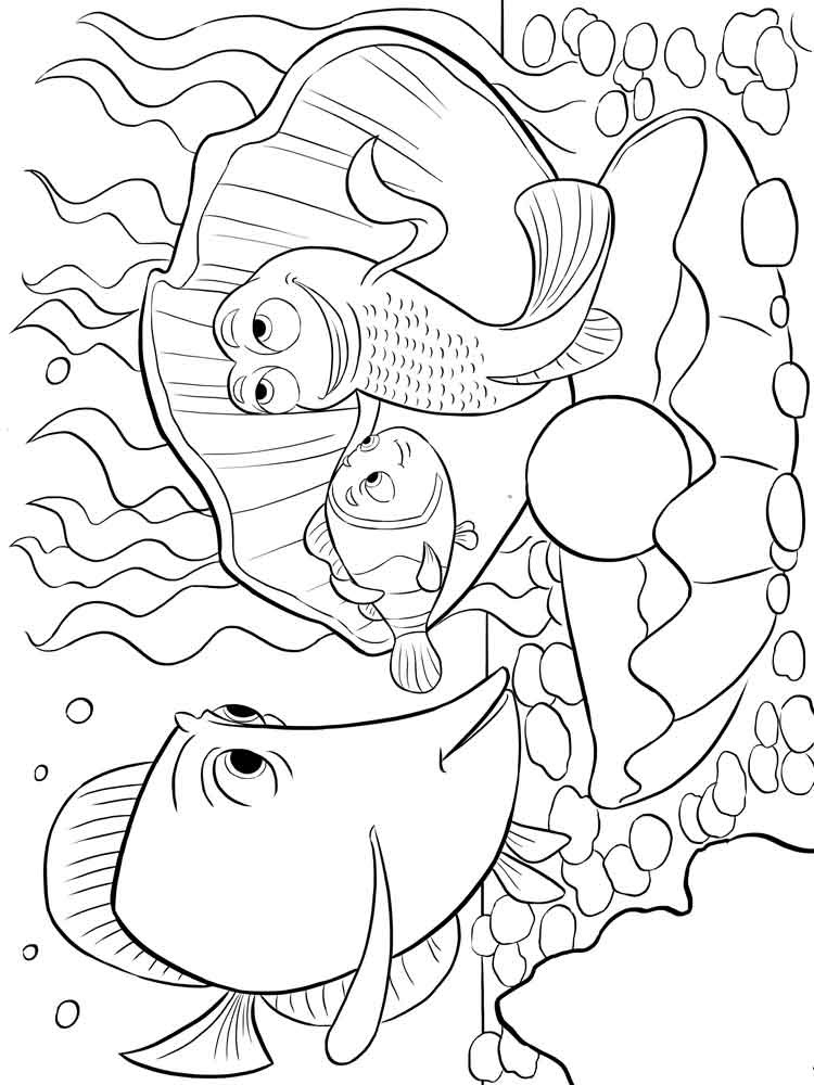 finding nemo coloring pages 5