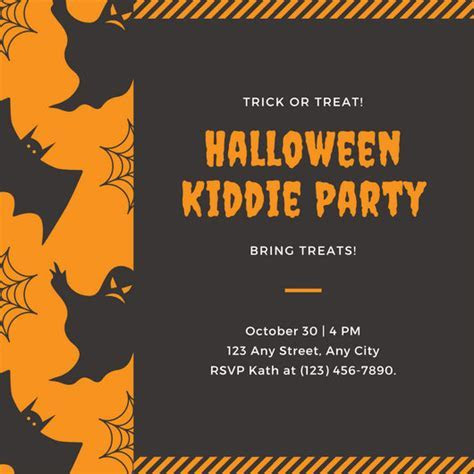 Customize 3,998  Kids Party Invitation templates online
