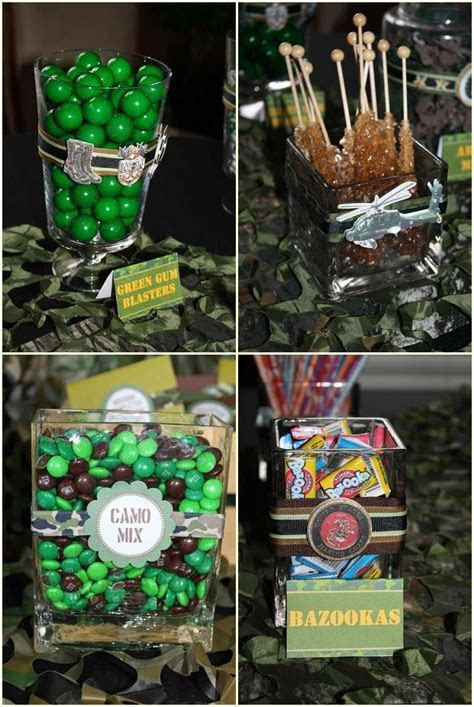 Camouflage Party Food Ideas Camo Party City Camo Sweet 16