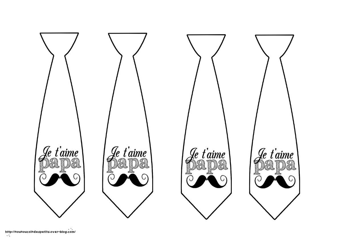 Tableau couleur cravate
