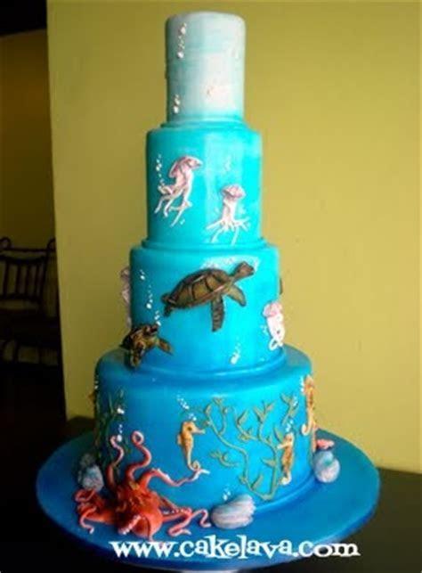 cakelava: Under the Sea with Octopus Wedding Cake