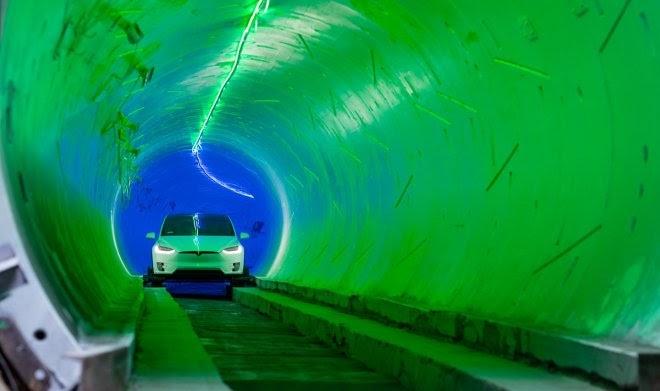 По транспортному тоннелю Илона Маска в Лас-Вегасе прокатились первые пассажиры