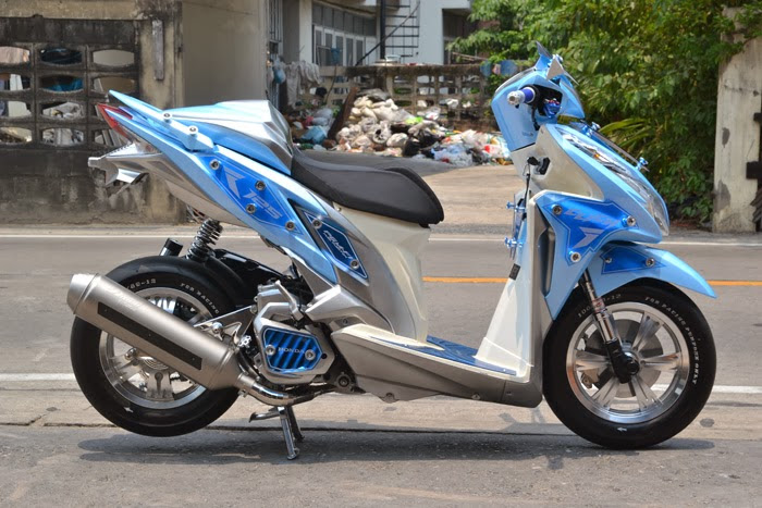 Modifikasi Motor Vario