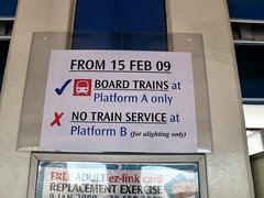 Boon Lay MRT Station Notice