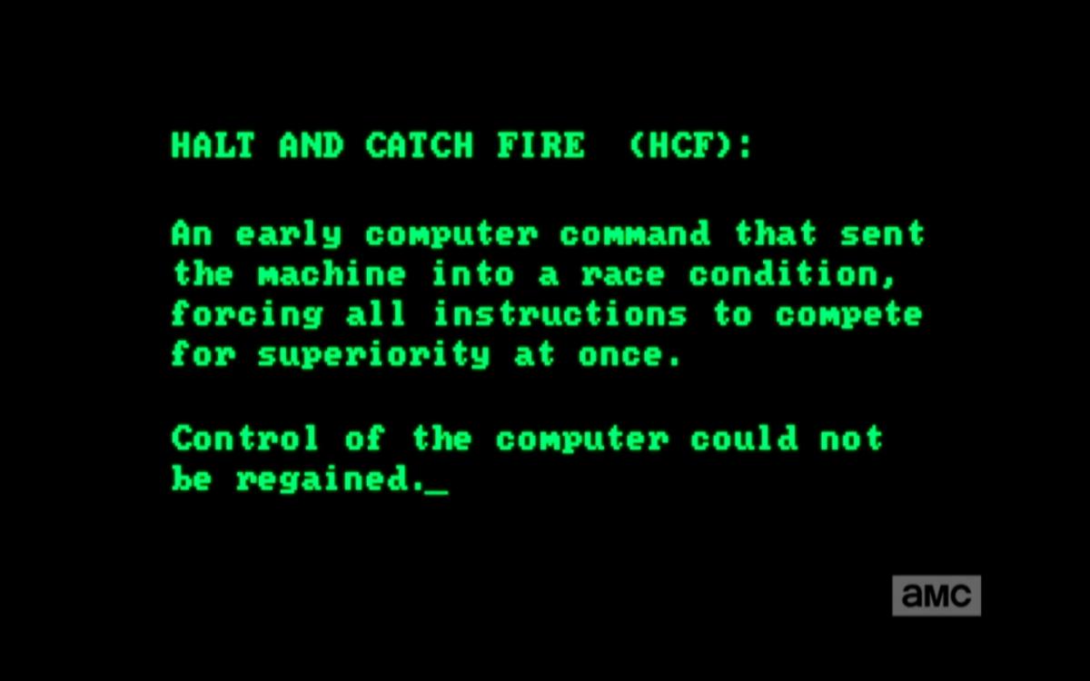 Halt And Catch Fire Screensnark