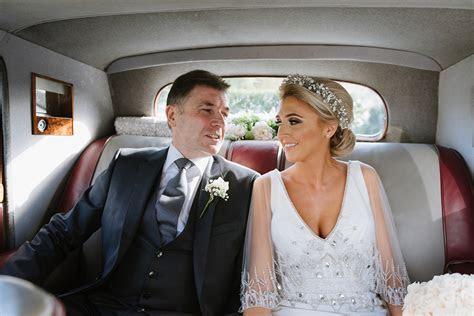 Badgley Mischka Deco Drama For a Timeless Castle Wedding