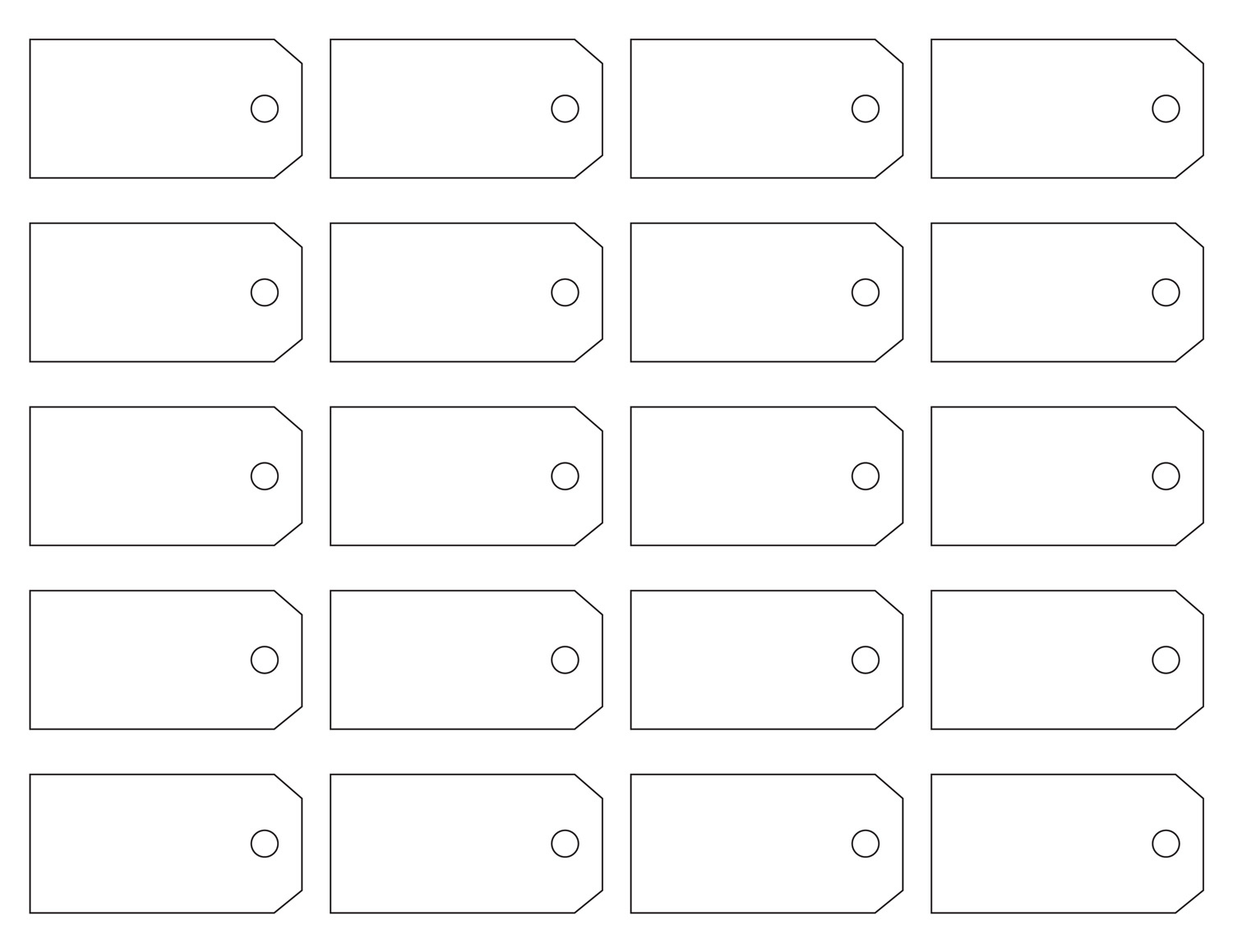 Recruitment House Get 21 Template Free Customized Name Tags Printable