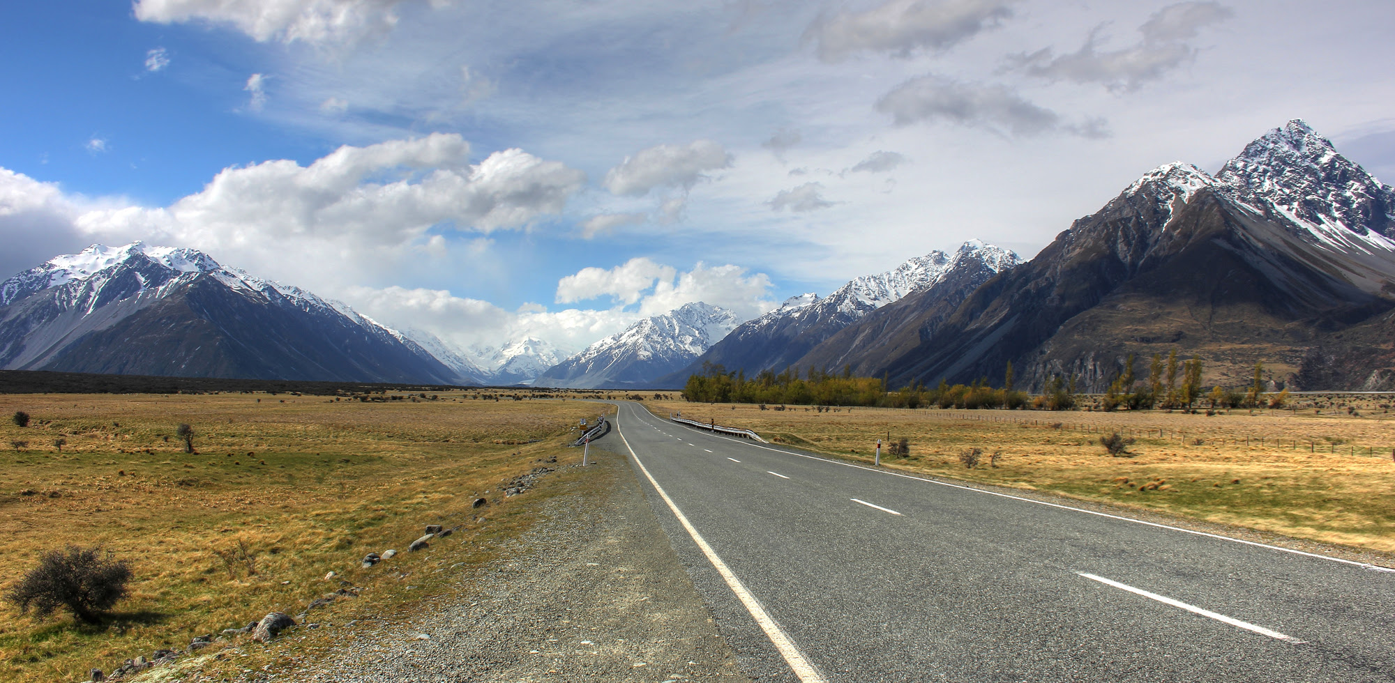 Mount Cook Road to Mount Cook feat