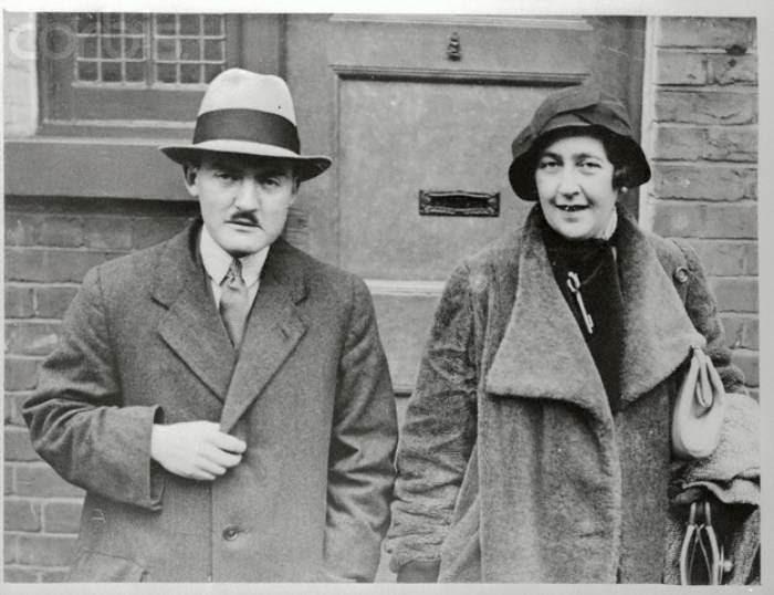 Агата Кристи с мужем, Максом Мэллоуэном
