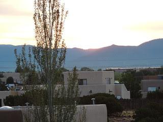 Sunrise over the Neighborhood - July 26