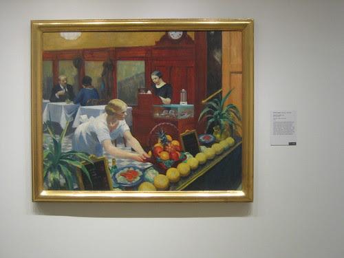 Tables for Ladies, 1930, Edward Hopper _8380